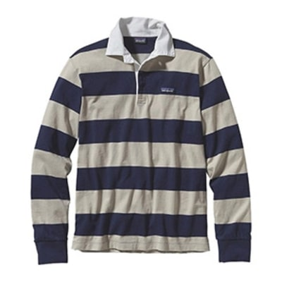 The Return of Patagonia's Classic Rugby Stripe Climbing Shirt