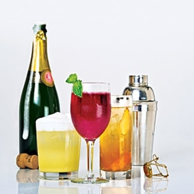 The Sparkling Holiday Cocktail