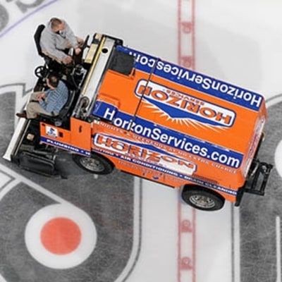 Think You Can Operate a Zamboni? Think Again