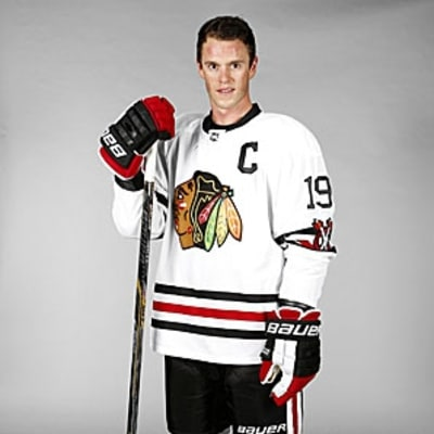 The Chicago Blackhawks Old School Winter Classic Jersey