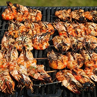 The Perfect Shrimp Kabobs for Grilling