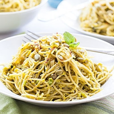 60-Minute Supper: Whole Wheat Spaghetti with Greens