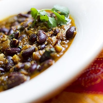 Give Your Bean Chili an Indian Kick