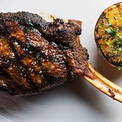 How to Make a Grilled Lamb Chop That's Inspired by the Classic Gyro