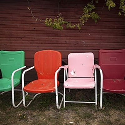 The Lost History of the American Lawn Chair