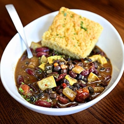 Vegetarian Chili for Meat Lovers