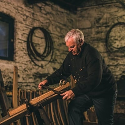 The Man Who Makes Irish Whiskey Barrels