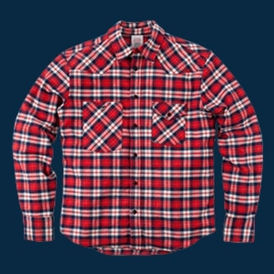 Topo Designs Plaid Work Shirt: Outdoorsman Gift Guide