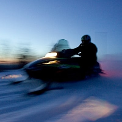 A Two-Nation Snowmobile Vacation