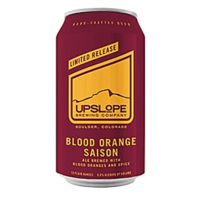 Upslope Blood Orange Saison: Gift Guide 2015