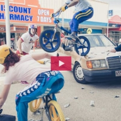 Watch Pro Riders Pay Homage to 1983's 'BMX Bandits'