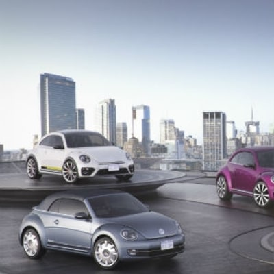 Volkswagen Shows Off Four New Beetles at New York Auto Show