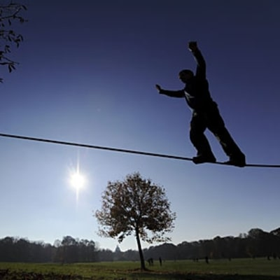 A Walk on the Slackline