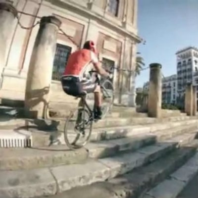 Watch a Road Biker Go Off-Road and Pull a Backflip