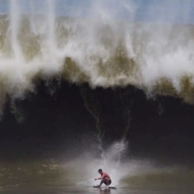 Watch a Skimboarder Ride Big Waves and Pull Tricks Better Than a Surfer