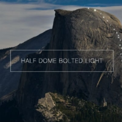 Watch Climbers Light the Entire Snake Dike Route on Half Dome