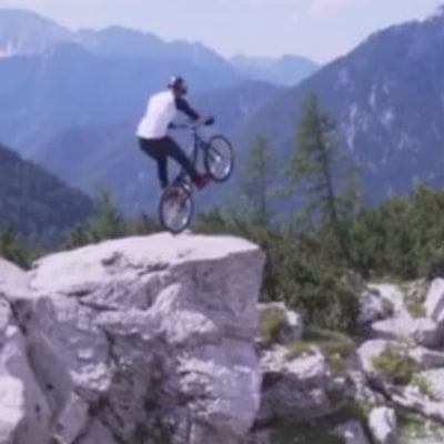 Watch Danny MacAskill Make a Mountain His Playground