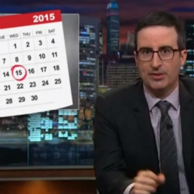 John Oliver Explains Why We Really Need the IRS