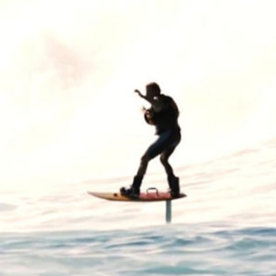 Watch Laird Hamilton Dominate Waves With His Foilboard