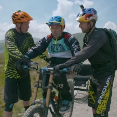Watch Paralyzed MTB Legend Martyn Ashton Return to Cycling