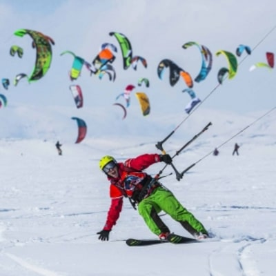 See Why This Snowkite Race Is One of the Most Brutal Endurance Events