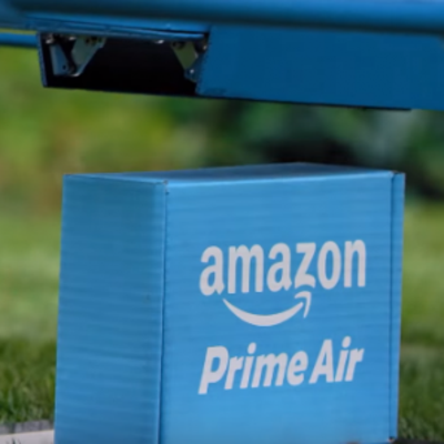 Amazon Shows Off Its Prime Air Delivery Drone in Action
