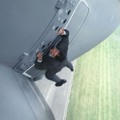 Watch Tom Cruise Hang Off the Side of an Airbus A400M as it Takes Off
