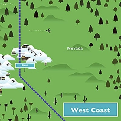 Where to Ski Now in California