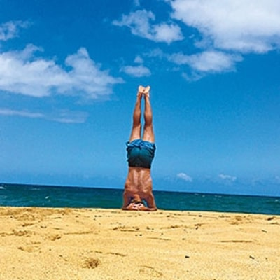 Laird Hamilton's Go-To Beach Workout