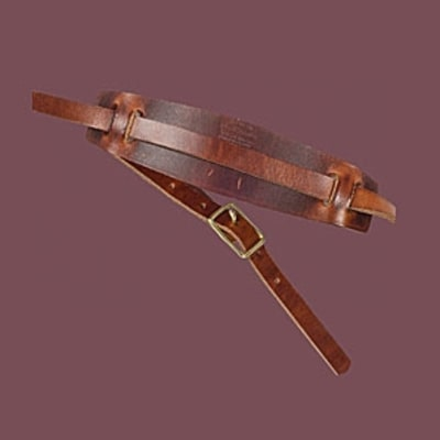 Wood and Faulk Leather Camera Strap: Photographer Gift Guide