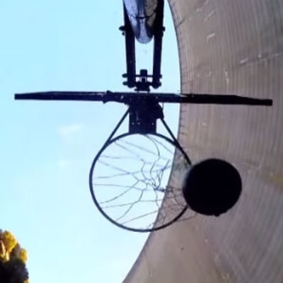 Watch a World Record 415-Foot Basketball Shot