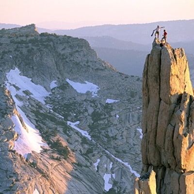 Summit the Cathedral in Yosemite National Park, California