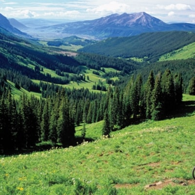 Biking in Crested Butte, Colorado