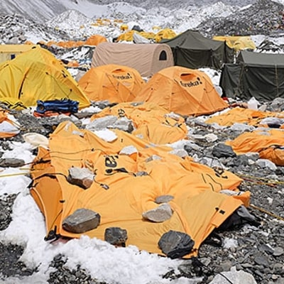 Nick Talbot: At Base Camp