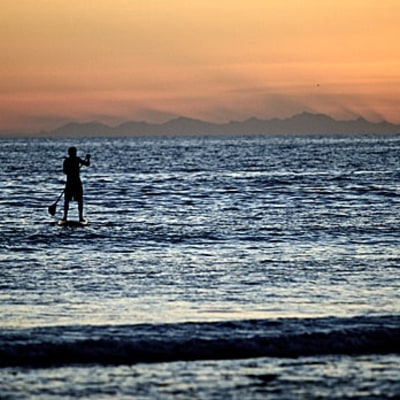 Standup Paddleboard in Baja
