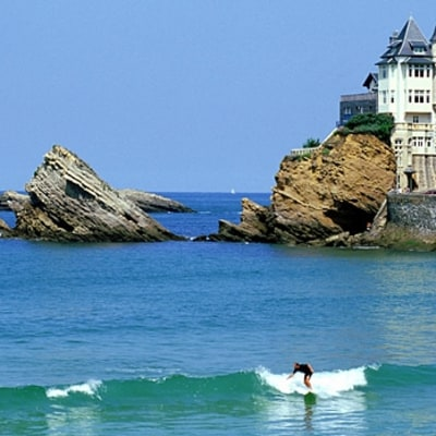 Hossegor and Biarritz, France