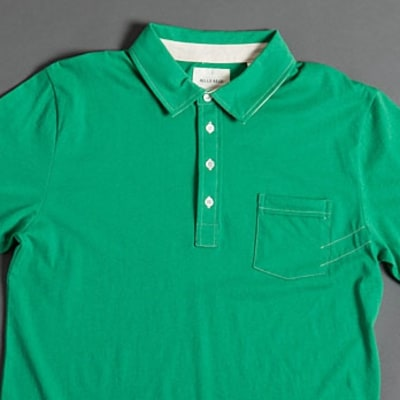 A rebooted polo shirt