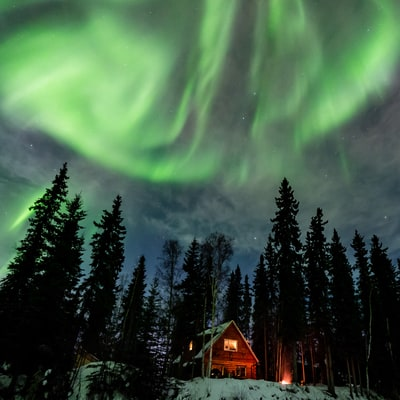 12 Places to Ring In the New Year Under the Northern Lights