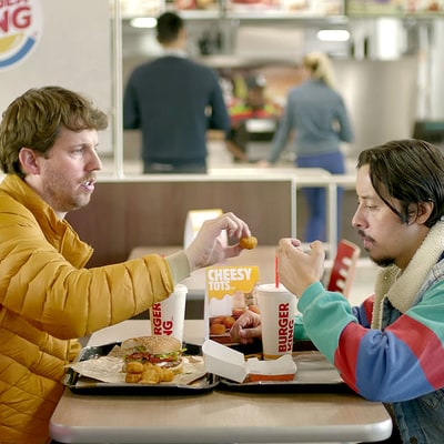 Whoa! Napoleon Dynamite and Pedro Reunite for Burger King's Cheesy Tots: Watch