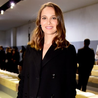 Pregnant Natalie Portman and Marion Cotillard Glow in the Front Row at Paris Fashion Week
