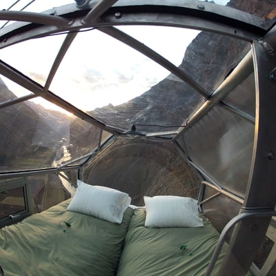 Shelter of the Week: Suspended 1,312 Feet Over Peru's Sacred Valley