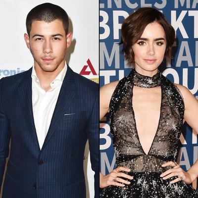 Nick Jonas Is Dating Lily Collins!