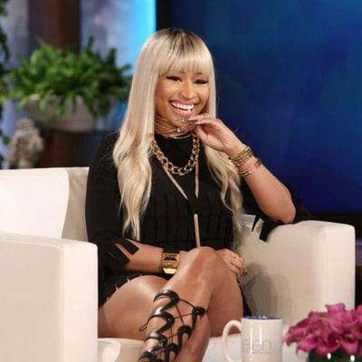 Nicki Minaj Denies Engagement, Tells Ellen Her Next Ring Will Be the Big One