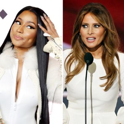 Nicki Minaj Slammed Melania Trump, Then (Kind of) Apologized: 'She Seems Nice'