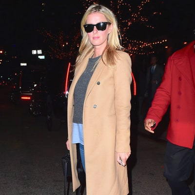 Pregnant Nicky Hilton Covers Her Baby Bump in Chic Camel Coat: See Her Stylish Pregnancy Outfit