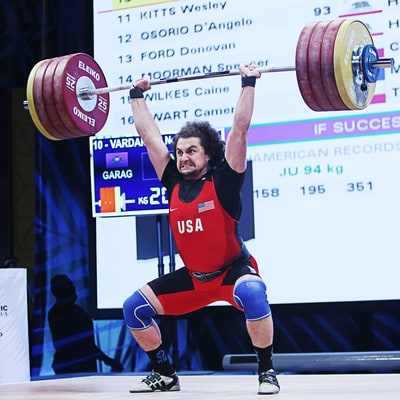 You'll Never Guess Olympic Weight Lifter Norik Vardanian's Favorite Workout Snack