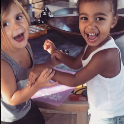 North West, Penelope Disick Have a Lemonade Stand: See the Adorable Pics, Videos