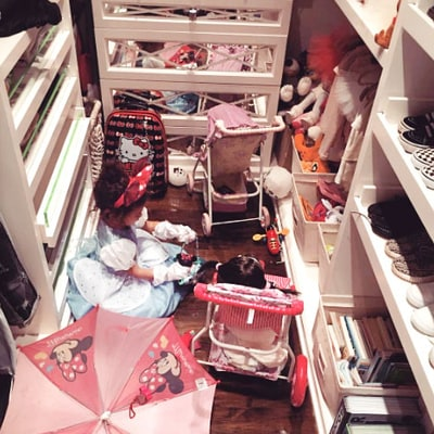North West Has Too Many Toys to Choose From: See Her Walk-In Closet!