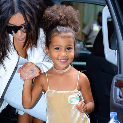North West Dances, Is an Adorable Flower Girl at Wedding of Kim and Kanye's Friend
