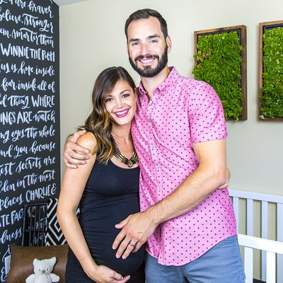 Desiree Hartsock and Chris Siegfried's Nursery Reveal — See the Pics